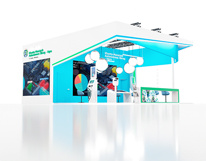 UGRA district Exhibition booth