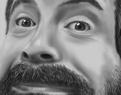Digital Caricature Portrait