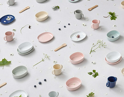 NUPPU, Branding for sustainable children's tableware