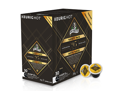 Keurig - Van Houtte - 95th anniversary packaging