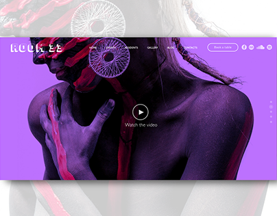 Night Club  - WordPress Theme for Divi 2.5