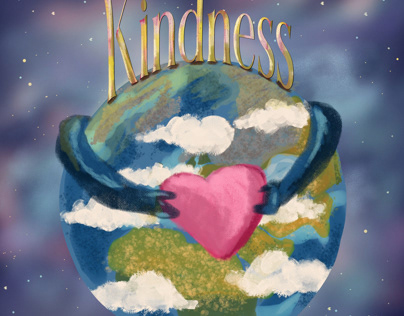 Kindness - editorial art by Leah Quinn