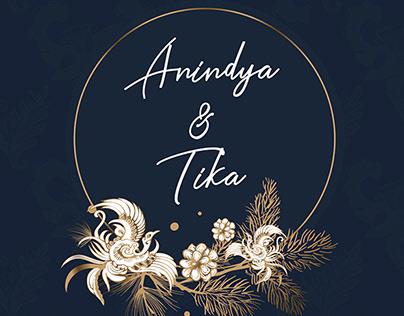 Wedding Invitation - Batik Lasem Concept Design