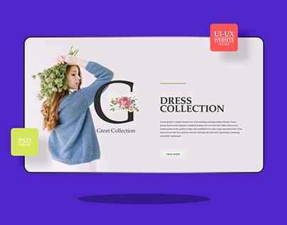 Website Mockup For UI-UX Designers Freebie