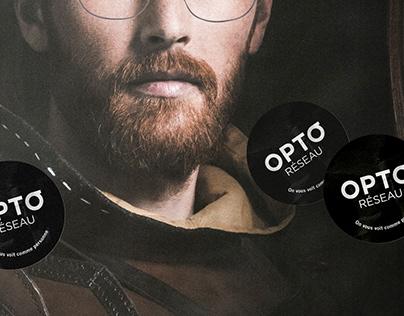 Opto-Réseau — Stunt affichage