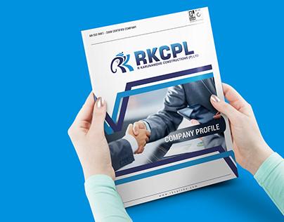 RKCPL Brochure Design
