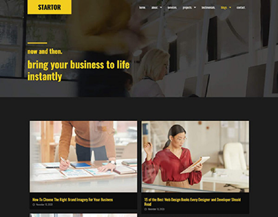 motors Agency Website