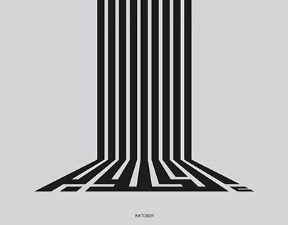 INKTOBER 2016 | Expressive Kufic
