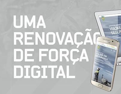 GNR Website (Pitch - Portuguese)