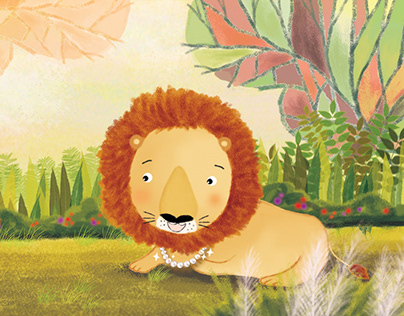 The Lion and His Necklace