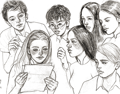 ˗ˏˋ illustrate for Kim Dong book ˊˎ˗