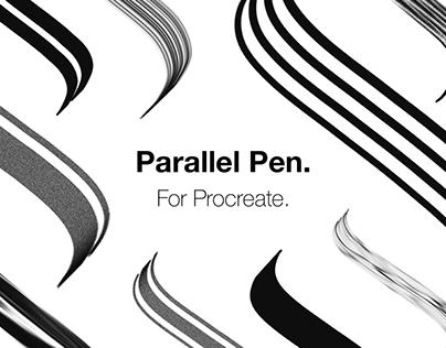 Procreate Parallel Pen!