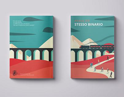 Andrea Zilli - Stesso Binario Editorial Cover