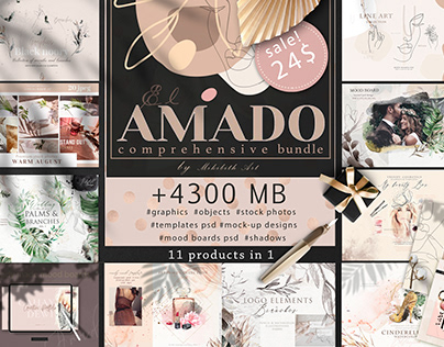 Amado bundle 11 in 1 items