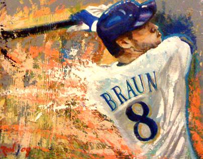 MLB Paintings