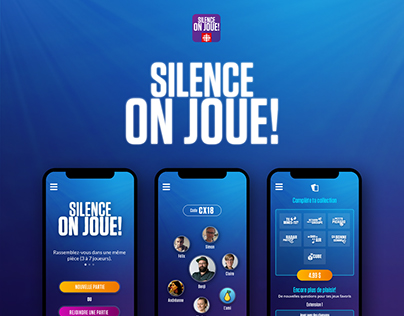 Silence, on joue! App mobile