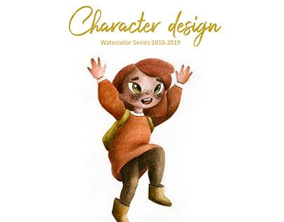 Character design 2018-2019