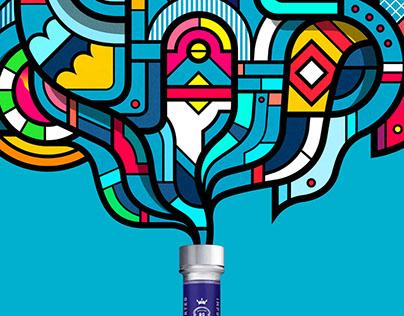 Three Olives Vodka • Adv Campaign