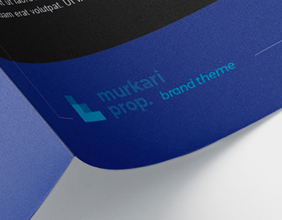 BLU. Proposal Template | InDesign Project | Limino