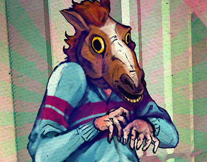 A Visit From Horse-Man in a Tracksuit (2019)