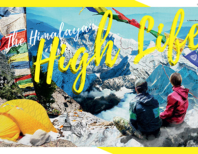 Himalayan Collage