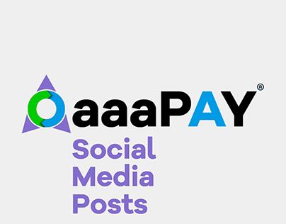 OaaaPay - Social Media Posts