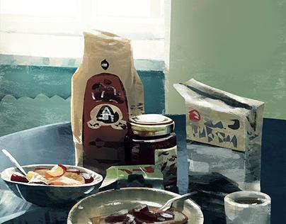 Paint Studies
