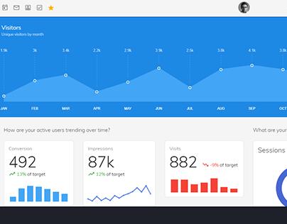 Admin/Dashboard Web application