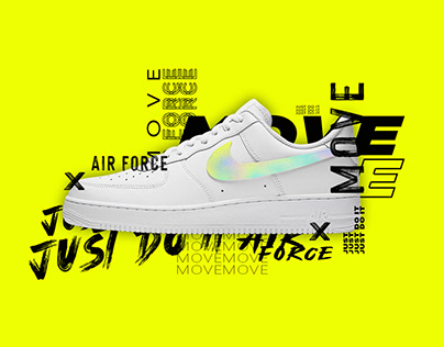 Nike Air Force 1 - Holographic