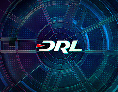 Drone Racing League Motion + Design Brand Package