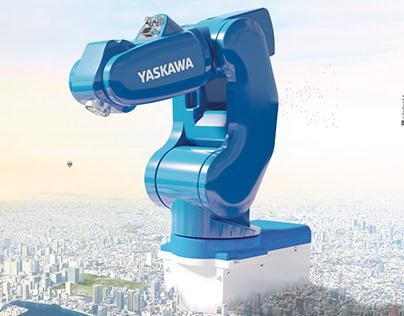 Yaskawa MotoMINI Campaign - 3d Cgi - final editing