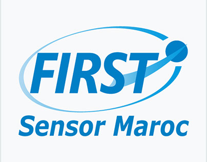 Création logo FIRST Sensor Maroc