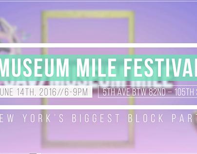 Museum Mile Festival Promo