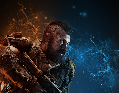 Call Of Duty Black Ops 4 Poster Design