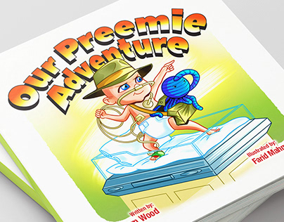 "Children's Book Illustration: ""Our Preemie Adventure"""
