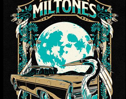 The Miltones T-shirt Design