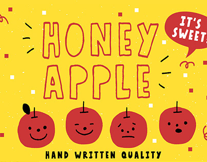 Honey Apple - Juicy Free Font