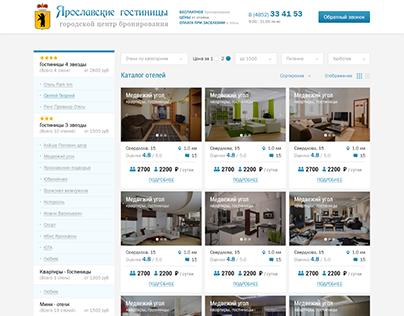 Yaroslavl Hotels Website