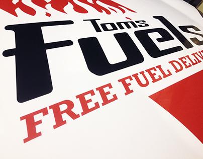 Tom's Fuels Branding
