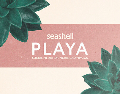 seashell playa social media launching campaign