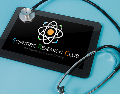 Scientific Research Club Logo Tasarımı