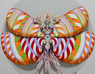 Circular butterflies