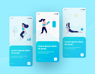 Fitness & Workout Training App
