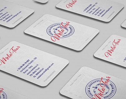 MELA TOUR - tour operator brand identity