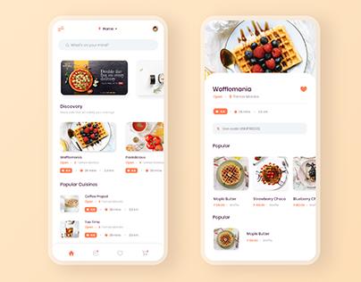 Food Delivery - App Design Concept