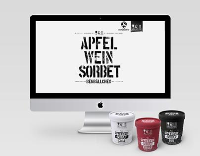 """Apfelwein Sorbet """"Bembällchen"""" // Webdesign"""