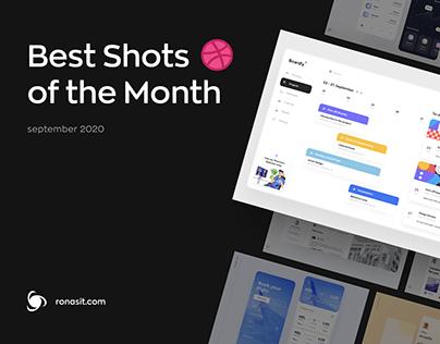 Monthly UI/UX Design Inspiration   September 2020