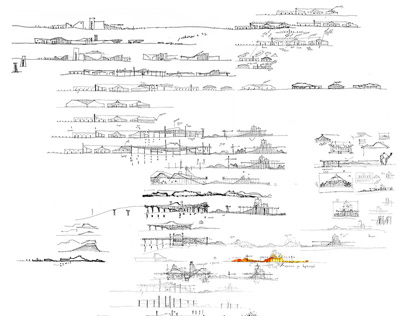architectural sketches111