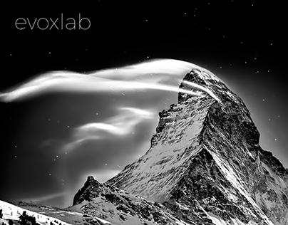 Landing page for Evoxlab