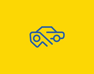CARSFLIP Logo Design